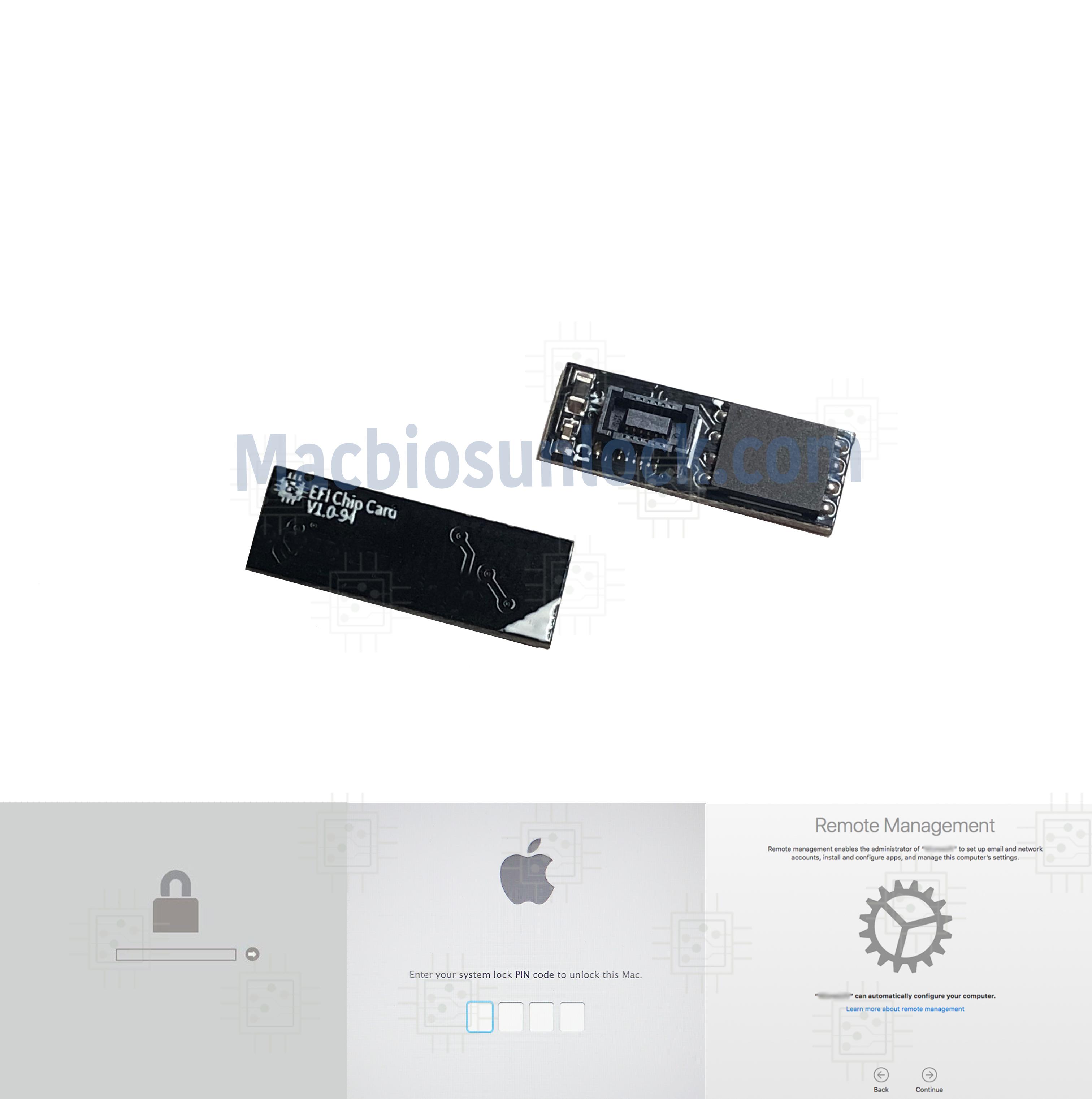 MDM iCloud Unlock EFI EFI Chip Card for Apple MacBook Pro MacBook Air MacMini
