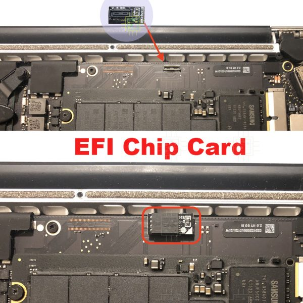 EFI Chip Card. DMD, DEP, EFI, iCloud unlock.